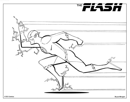 Flash Coloring Page copy